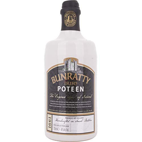 Bunratty Irish POTCHEEN 40,00% 0,70 Liter