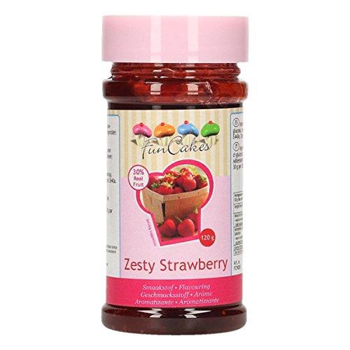 FunCakes Aroma de Fresa Acida de FunCakes: Aromas Alimentarios, Gran Sabor, Perfecto...
