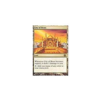 Magic The Gathering - City of Brass - Eighth Edition