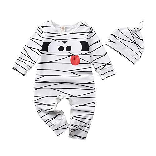 HINTINA Neugeborenes Baby Kleinkind Jungen Kleidung, Niedliche Kostüme Mama, Kleinkind Unisex Strampler Overall