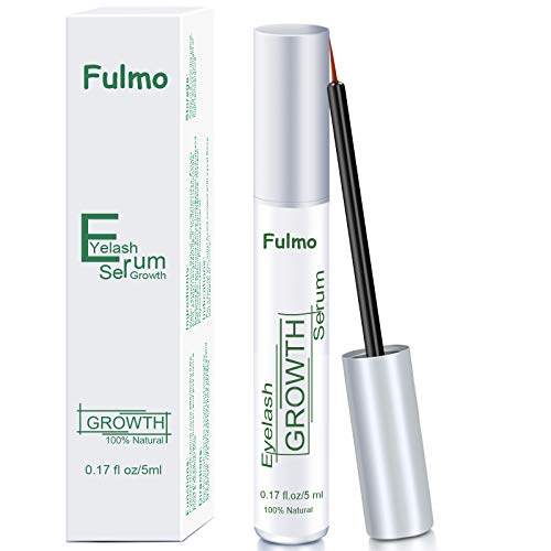 Eyelash Growth Serum Natural Eyelash Growth Enhancer & Eyebrow Serum Eyelash Booster for Rapid Lash and Brow Growth 100% Natural Eyelash Serum for...