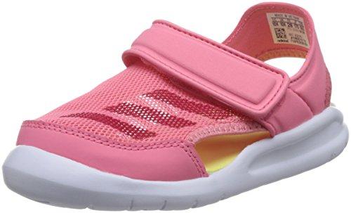 adidas Fortaswim C, Zapatos de Playa y Piscina Unisex Niños, Rosa (Chalk Pink S18/vivid Berry S14/ftwr White), 29 EU