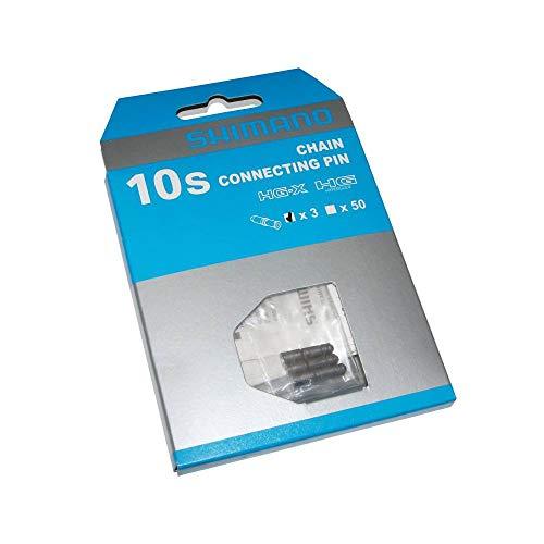 Shimano - Y08X98031 - Rivets de chaîne - 10 vitesses - Gris - 3 pièces - 5,85 mm