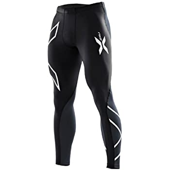 2x u Collant de Mens Elite Compression [Xform] Pantalon M Noir