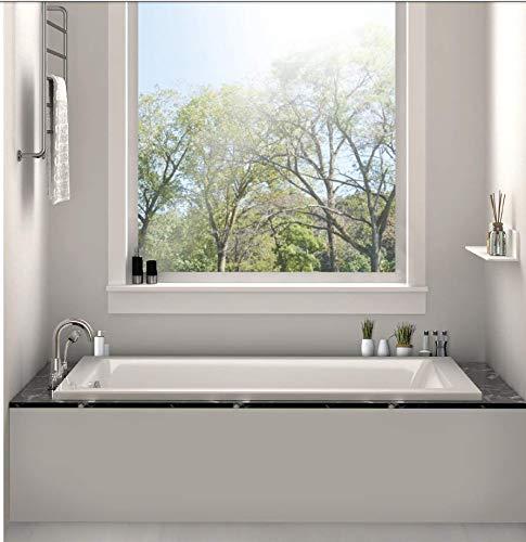 Fine Fixtures 60-inch Soaking Drop-in or Alcove Bathtub - 60' x 30' x 19