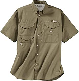 Columbia Men's Bonehead Short Sleeve Shirt Tall,SAGE,2XT