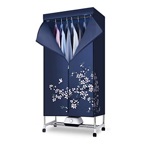 Secadora portátil de paños sin ventilación, armario eléctrico, estante de secado eléctrico...