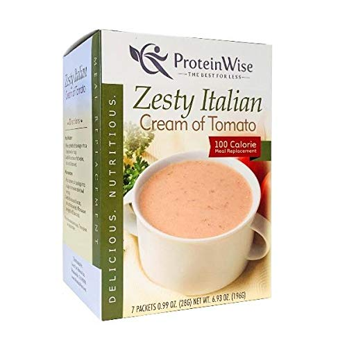 ProteinWise - Ultra-Cheap Deals Soup Zesty Italian Protein High of Tomato Max 50% OFF Cream