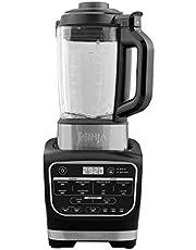 Ninja HB150EU Soup Maker & Blender Mixer, met Hittebestendige Glazen Kan, 1000 W, 1.7 L, Zwart