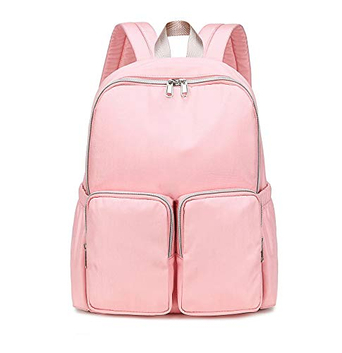 Acmebon Mini Backpack Purse for Women Casual Small Daypack for Girl Pink