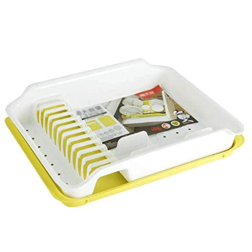 SHYPT Drying Dish Rack Set ,Dish Rack Drainer, with Drainer Drainboard,Easy to Clean with Snap
