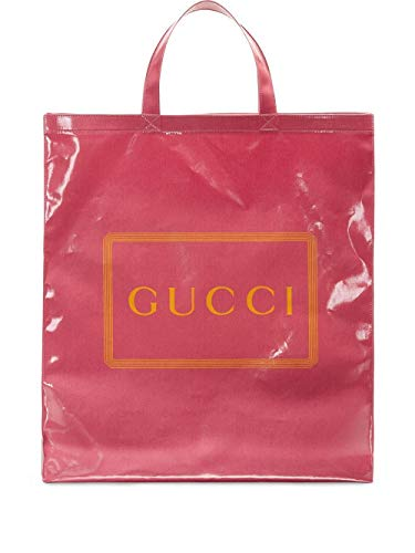 Gucci Luxury Fashion Damen 575140G0BA05868 Rosa Polyurethan Tote | Herbst Winter 19