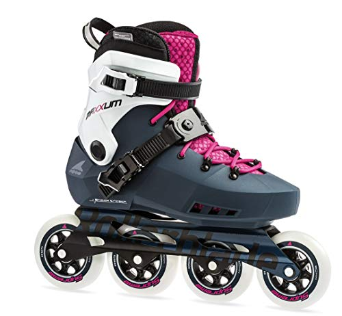 Rollerblade Damen MAXXUM Edge 90 W Inline-Skate, Himbeere/Saphir, 255