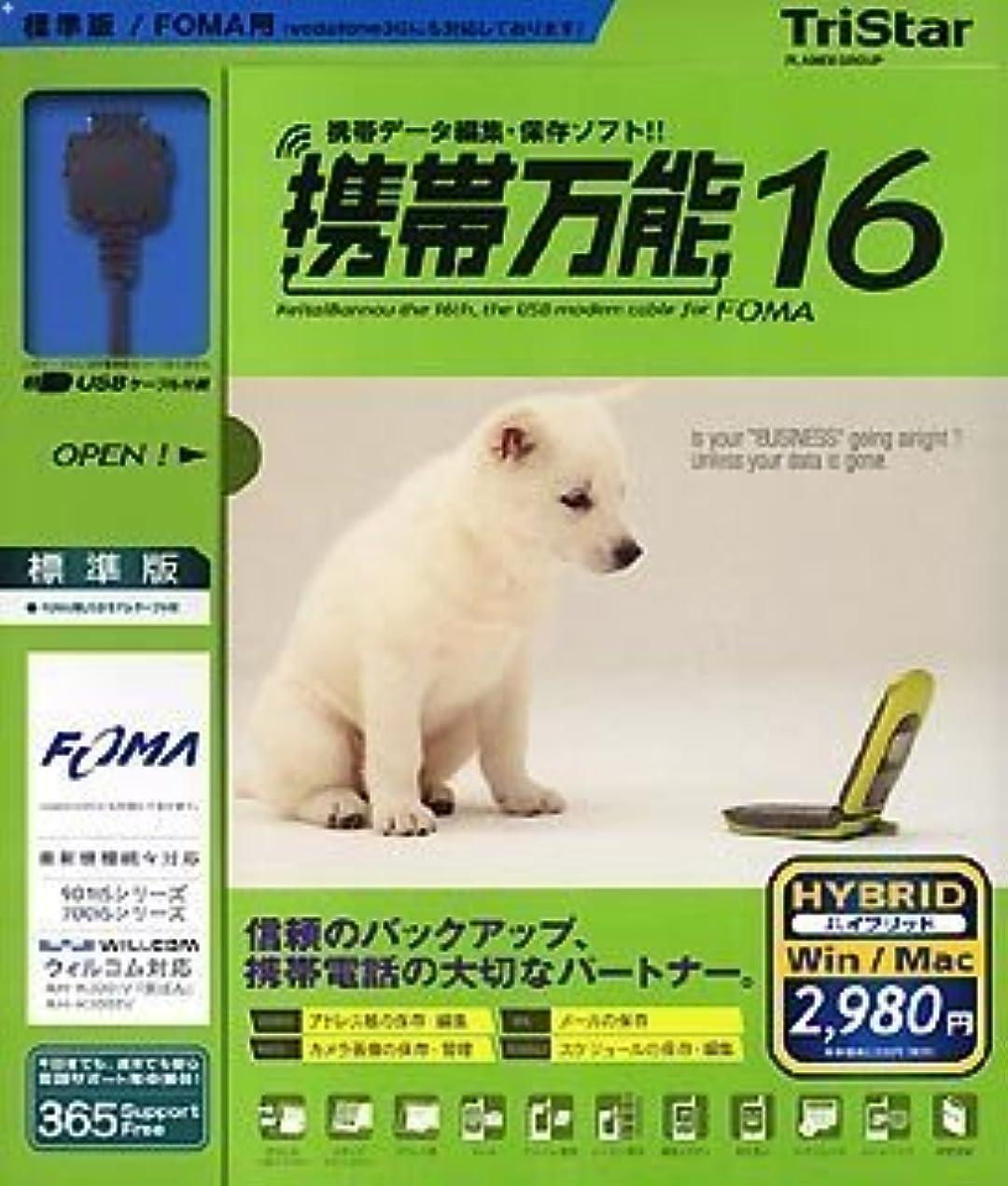同様にかもしれないウィンク携帯万能16 FOMA用標準版 [HYBRID]