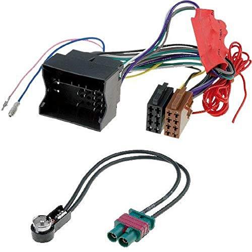 ADNAuto 46874 Kit Adaptateurs Iso Autoradio + Antenne-Systeme Amplifie Non-Bose-/// Ap02-Kitcabasa02