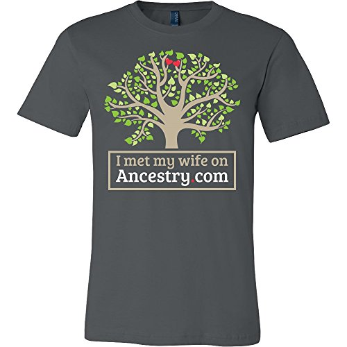 I Met My Wife On Ancestry.com Shirt - Funny Offensive Tee
