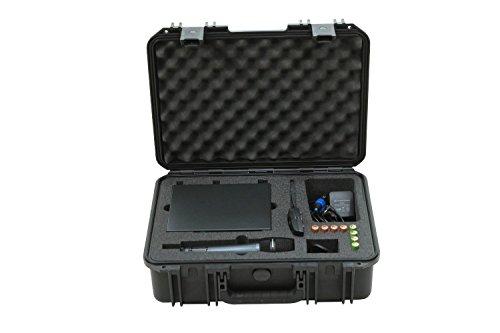 SKB 3i-1711SEW Spuitgegoten waterdichte transportkoffer met schuim voor Sennheiser EW draadloos microfoonsysteem