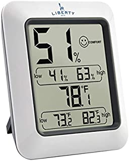 Liberty Safe Humidity and Temperature Monitor Hygrometer - Detects Gun Safe Internal Conditions