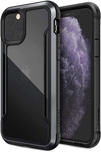 X-Doria Defense Shield - Aluminum Case for iPhone 11 Pro (Drop Test 3M) (Black)