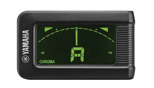Yamaha YTC5 Stimmgerät, verchromt, mit Zange, Schwarz