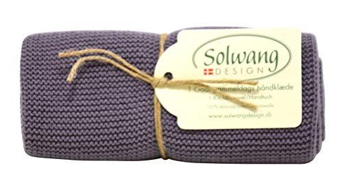 Solwang - Toallas de mano de algodón danés 100% certificado por Oeko-Tex o GOTS