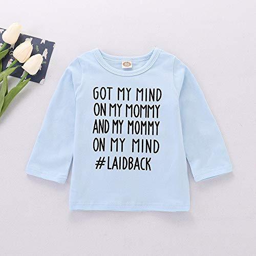 Snakell Jungen Pullover Unisex Baby Set Baby/Kinder T-Shirt mit Spruch Baby Unisex 100% Baumwollen T-Shirt Little Brother Langarmshirt Trachtenhemd Shirts für Jungen Mädchen