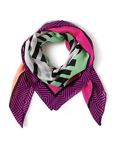 Street One Damen 571483 Mode-Schal, phlox pink, A