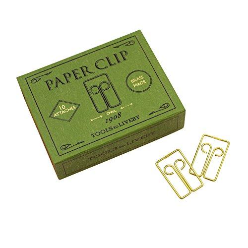 Paper Clip/ペーパークリップ D/1908年代 TTLB【グリーン】 TL003-D(GN