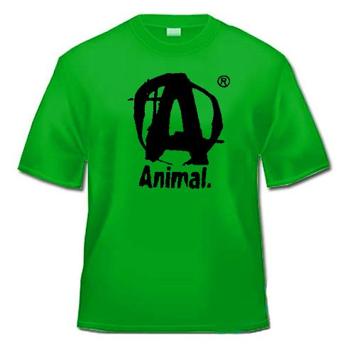 T-shirt Universal Nutrition Animal - Vert - Taille : M