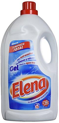 Elena Gel- Detergente para lavadora, 73 Lavados
