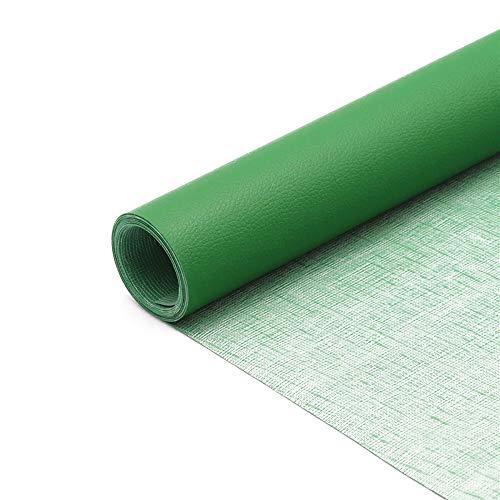Hourongw 3 rollos de tela de piel sintética, 20 x 30 cm, 1 rollo, parche de tela de cuero autoadhesivo para sofá