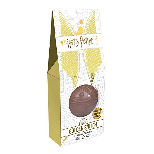 Jelly Belly Harry Potter Golden Snitch - Chocolate con Leche, Cacao, 47 Gramos