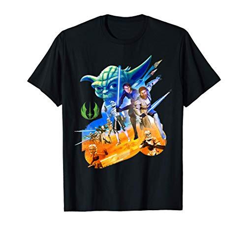 Star Wars Clone Warriors Characters Camiseta