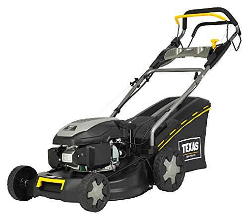 TEXAS XT 460 TR/WE Benzinrasenmäher Rasenmäher (4-Takt, 46 cm Arbeitsbreite, 7-Fach Schnitthöhenverstellung, Mulchfunktion, Elektrostart, Radantrieb) 90066594