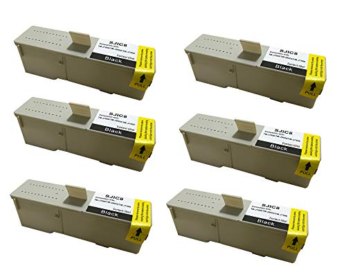 KLDink 6Schwarz 60ml SJIC8K C33S020407 Kompatible Tintenpatronen fur TM J7000 TM J7500TM J7500p TM J7500 SeriesTM J 9000