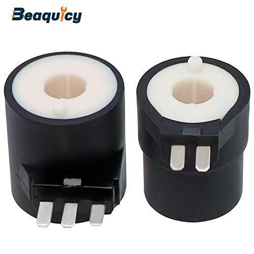 279834 Gas Valve Ignition Solenoid Coil Kit by Beaquicy - Replacement Part for Kenmore Whirlpool Samsung Estate Magic Chef Dryer
