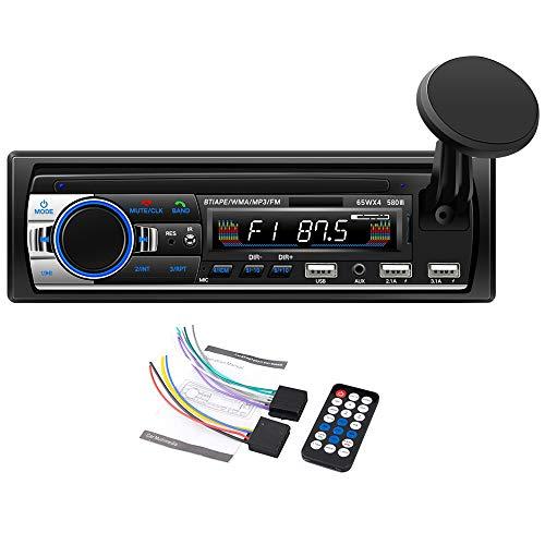 Youmine Coche MP3 3 USB-Disk Audio con Soporte para TeléFono MóVil Audio de AutomóVil MáQuina de Tarjeta MáQuina MP3 580