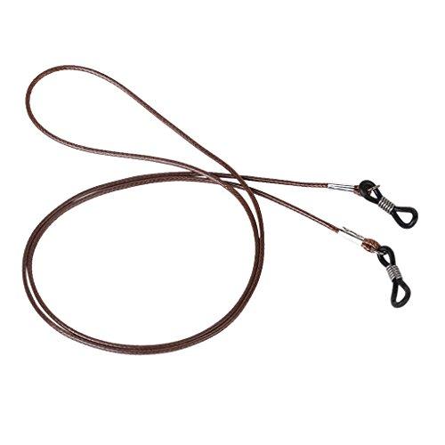 Hombres mujeres gafas correa titular tipo simple cordón de cera antideslizante cordones para gafas de sol de lectura