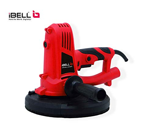 iBELL Dry Wall Sander DS80-53, Sanding PAD Size 9' (225MM), 1050W, 2300RPM with Vacuum and Dust Collecting Bag