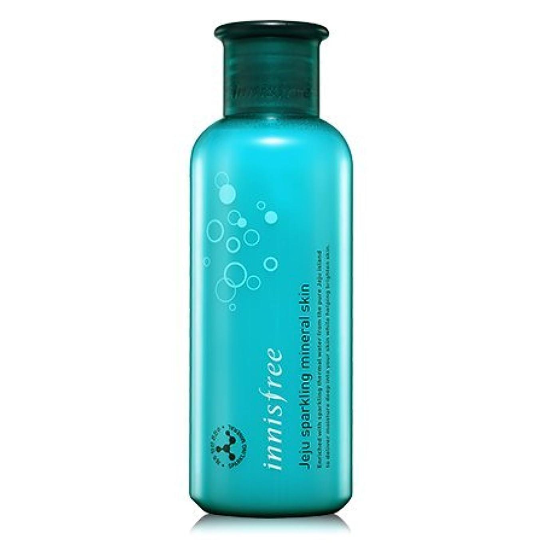 その間く流行[innisfree(イニスフリー)] Jeju sparkling mineral skin (200ml) 済州 スパークリング ミネラル スキン [並行輸入品][海外直送品]