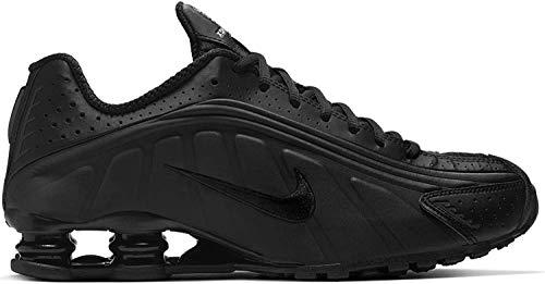 Nike Herren Shox R4 Leichtathletikschuhe, Schwarz (Black/Black/Black/White 44), 46 EU
