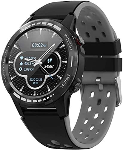 YLB M7S SIM Tarjeta Teléfono Smart Watch GPS Nuevo SmartWatch Men S Compass Barómetro Altitude Deporte al aire libre Impermeable reloj inteligente Hombres adecuados para Android iOS ( Color : A )