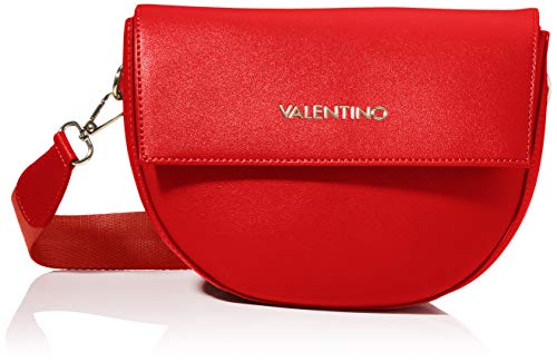 Mario Valentino Valentino by Womens BIGS Satchel, Rosso, one Size