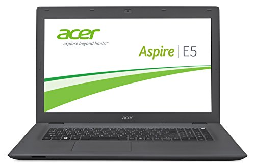 Acer Aspire E 17 (E5-772G-7112) 43,9 cm (17,3 Zoll Full HD) Laptop (Intel Core i7-5500U, 8GB RAM, 1000GB SSHD, NVIDIA GeForce 940M, DVD, Win 10 Home) schwarz