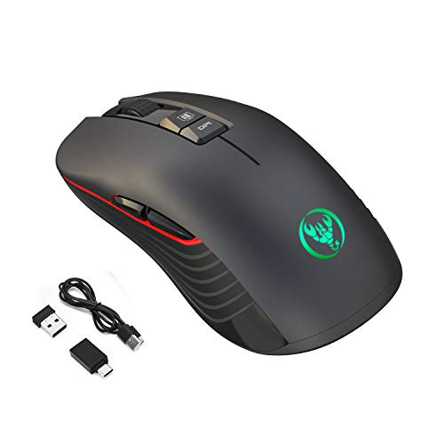 Game Computer Mouse Rechargeable...