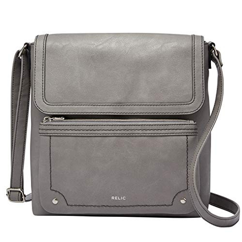 Relic by Fossil Women's Evie Flap Crossbody Handbag, Color: Smoke Model: (RLH8620793)
