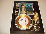 Disque d'or signé Celine Dion