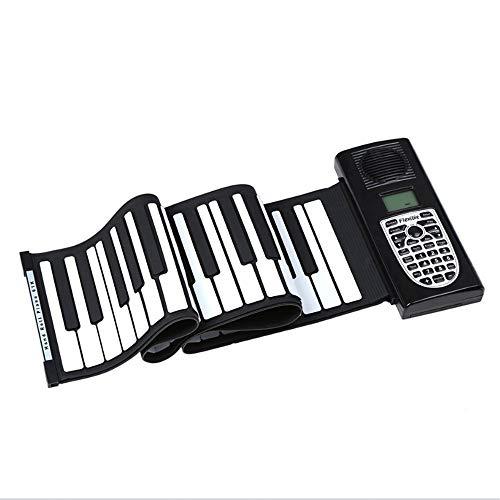 Wenzhihua 61 Teclas enrollables Piano Niños Piano electrónico Niños...