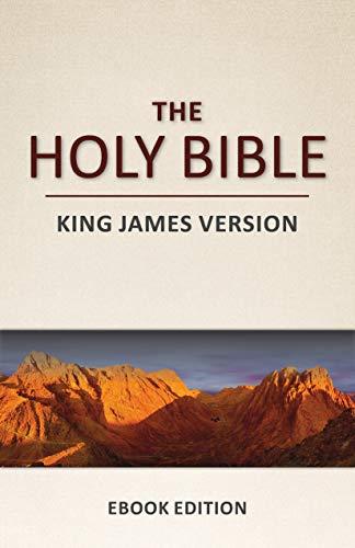 The Holy Bible (KJV), Holy Spirit Edition, Easy Navigation, Maps: King James Version