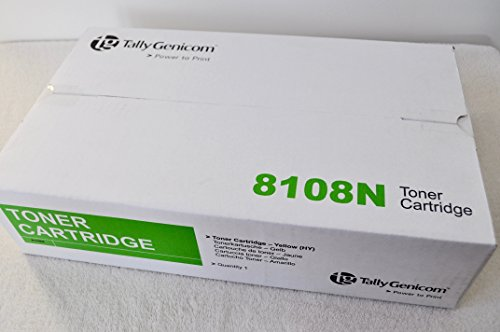 Amarillo 043798Rebuild cartucho de tóner para impresora tally-genicom T 8108N/3000páginas ✅